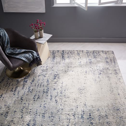 Paint Palette Special Order Rug 30 Day Delivery West Elm West Elm Rug Distressed Rugs Rugs