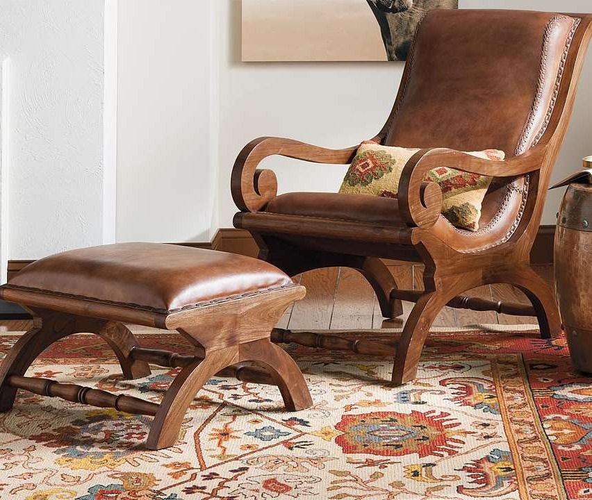 teak chair and ottoman. augusto chair and ottoman teak