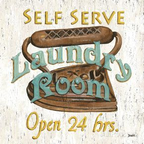 Laundry Room II Lmina transfer y decoupage Pinterest Laundry