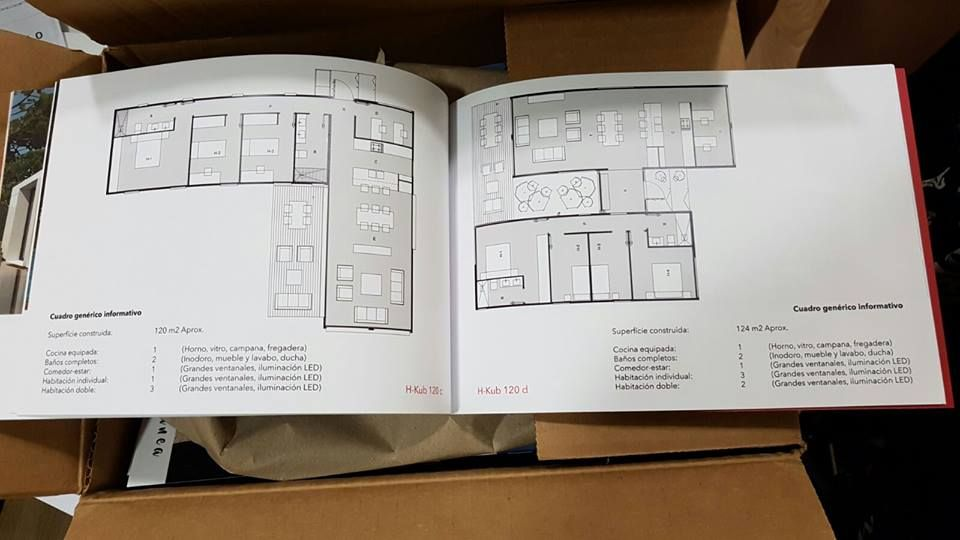 Por fin tenemos a vuestra disposición el primer catálogo de H-Kub - modelos de baos