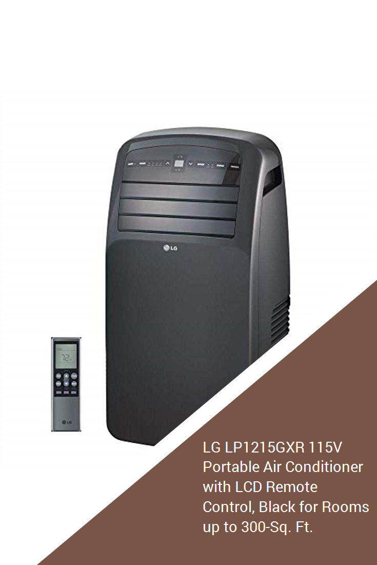 Lg Lp1215gxr 115v Portable Air Conditioner With Lcd Remote Control Black For Rooms Up To 300 Sq Ft Diy S Izobrazheniyami