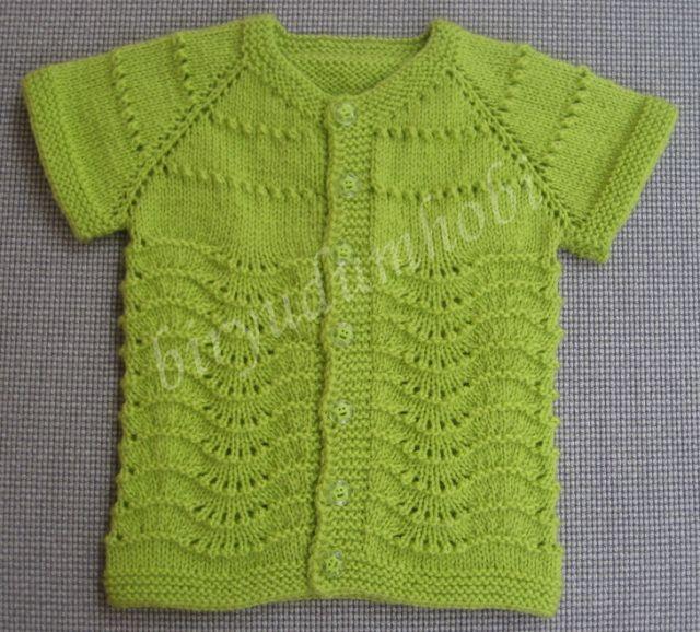 dalgalı ajur bebek yeleği | Baby & Kids Vest | Tricô bebê ...