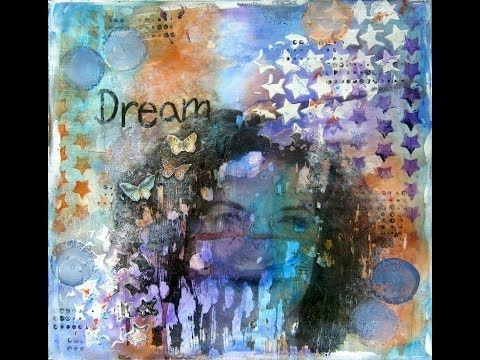 ▶ Photo transfer Mixed Media Art Journal page tutorial - YouTube