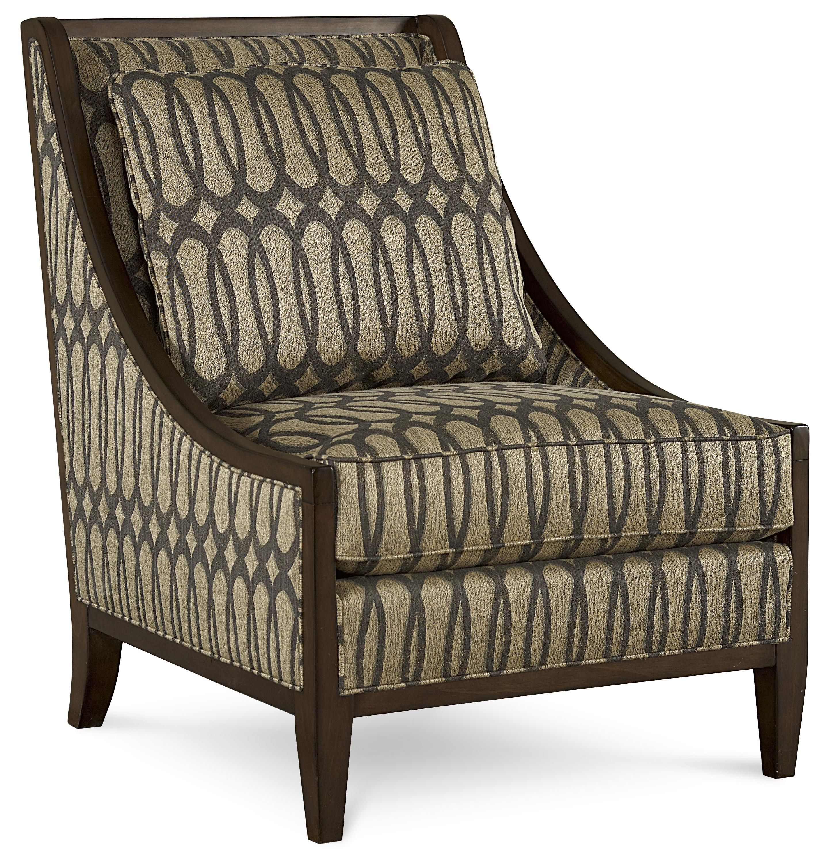 Harper Mineral Transitional Exposed Wood Frame Accent