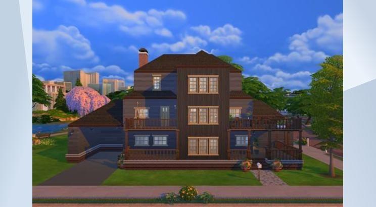 Взгляните на этот участок в Галерее The Sims 4! - Greener