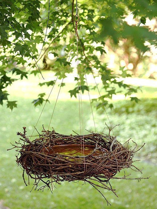 Photo of Vogeltränke selbst machen: Aus Blumentopfuntersetz – Blumen Natur Ideen