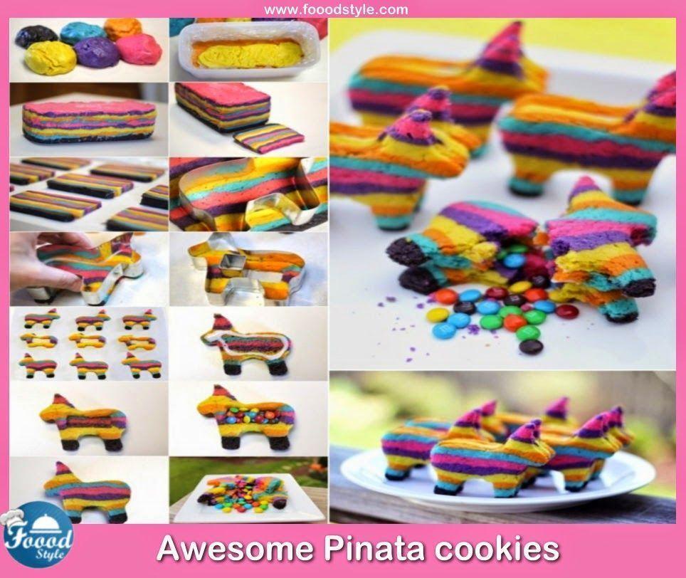 Photo of Awesome Pinata cookies idea ! – Foood Style – Apfel Kuchen – Apfel Kuchen – …