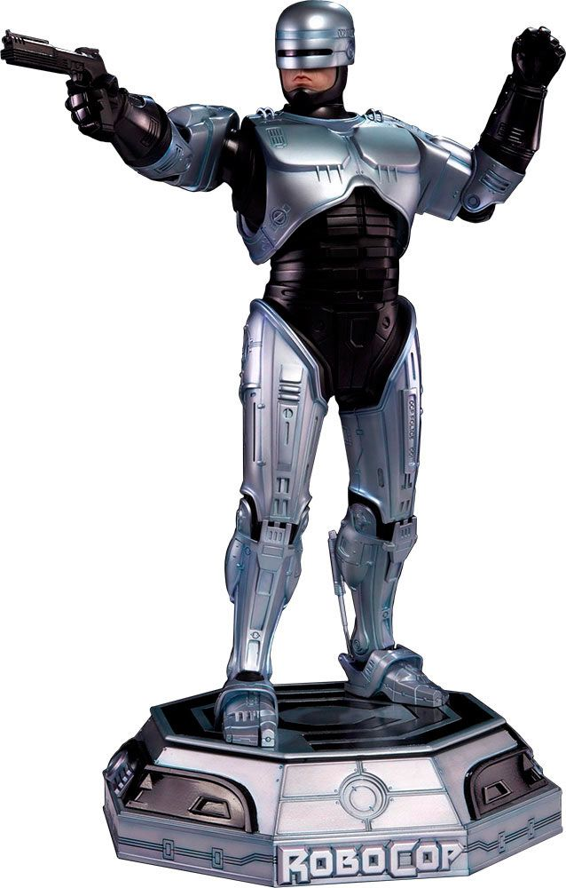 Estatua Robocop 54 cm. Escala 1:7. Pop Culture Shock  Si te gustó el film de Robocop, no te pierdas esta fantástica estatua articulada que te presentamos de su protagonista de 54 cm de altura, de poliresina, a escala 1:6 y por supuesto 100% oficial y licenciada. Espectacular en todos los sentidos, vale la pena.