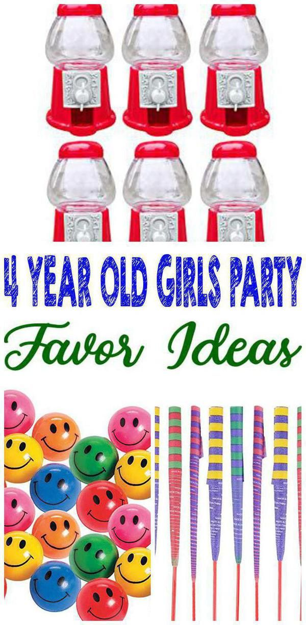 Best 4 Year Old S Party Favor Ideas Kids Birthday