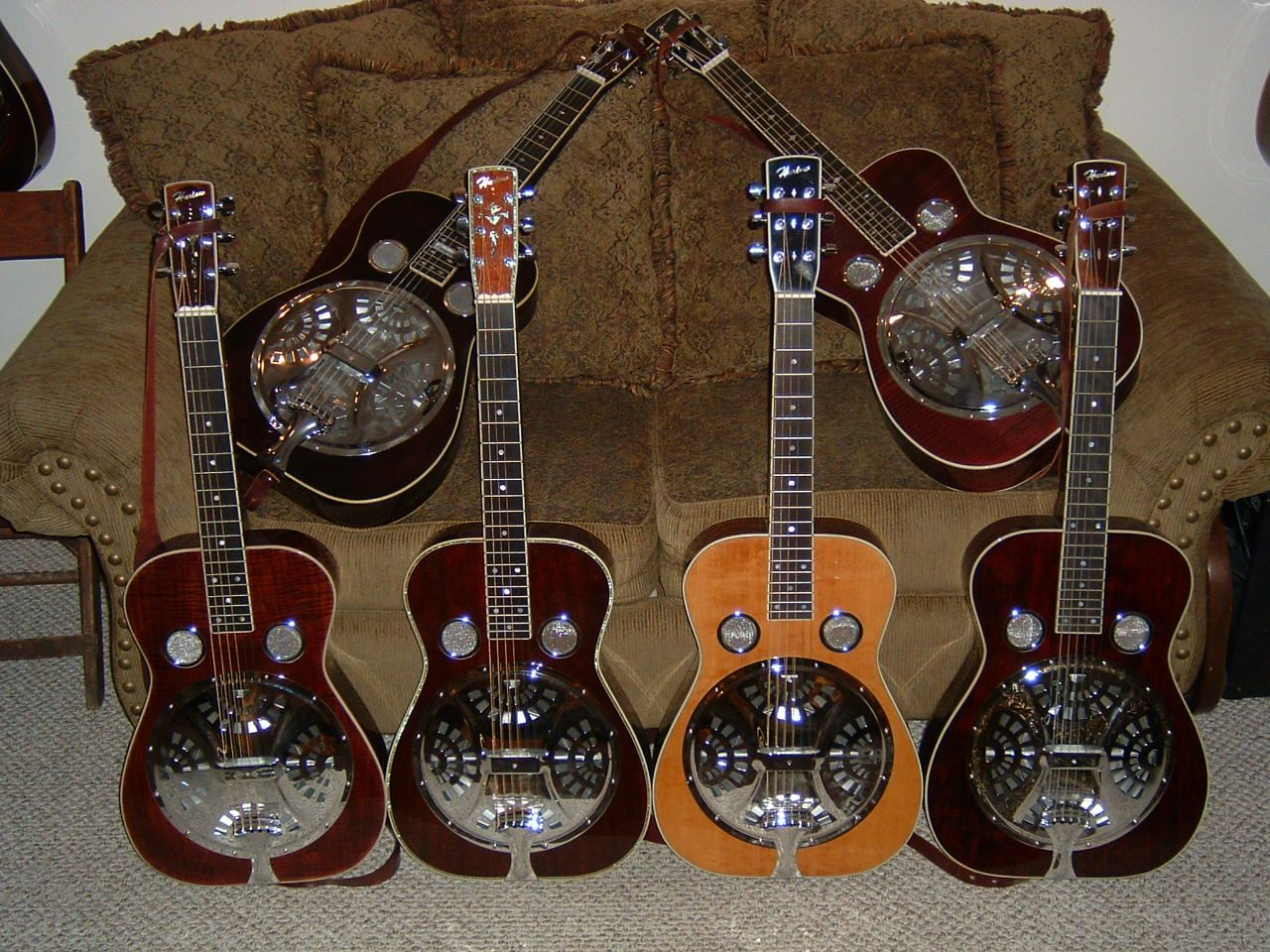 harlow resonator guitars instruments pinterest. Black Bedroom Furniture Sets. Home Design Ideas