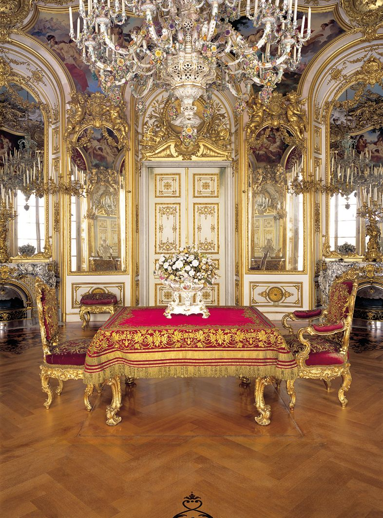 Versaillesadness Schloss Herrenchiemsee Bayern Deutschland Ig Versaillesadness Castles Interior Palace Interior Opulent Interiors