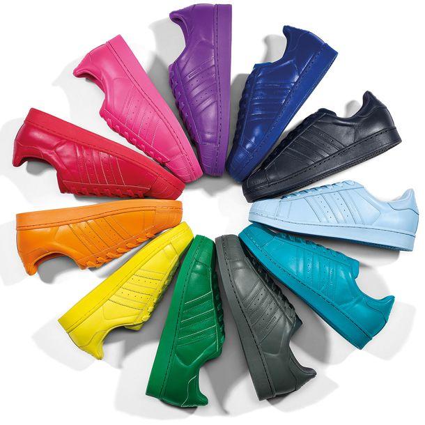 Adidas Supercolor Pharrell Williams multi