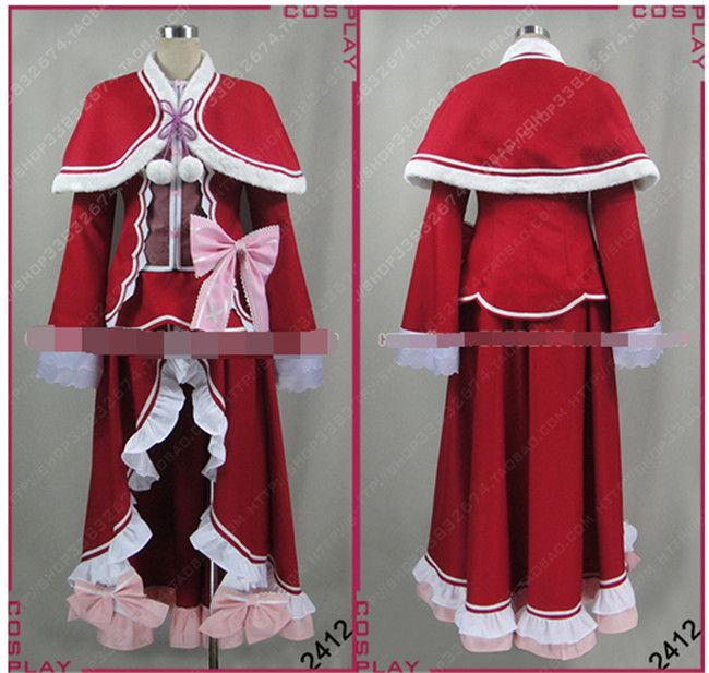New Anime Re: Zero kara Hajimeru Isekai Seikatsu Cosplay Costumes Rose Red Kawaii Beatrice Cosplay Costumes Free Shipping #Affiliate