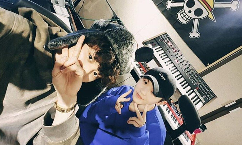 I have a lot of regrets personally. Chanyeol S Selfie With Woozy At Recording Studio Leaves Fans Excited Koreaboo Chanyeol Sehun Baekhyun