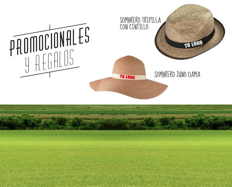 promocionales y regalos. sombreros, favor gifts.
