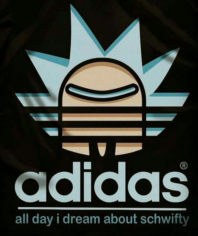 Adidas All Day I Dream About Schwifty Rick And Morty Shirts