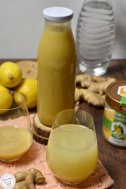 Photo of Magic drink: ginger and lemon syrup with honey
