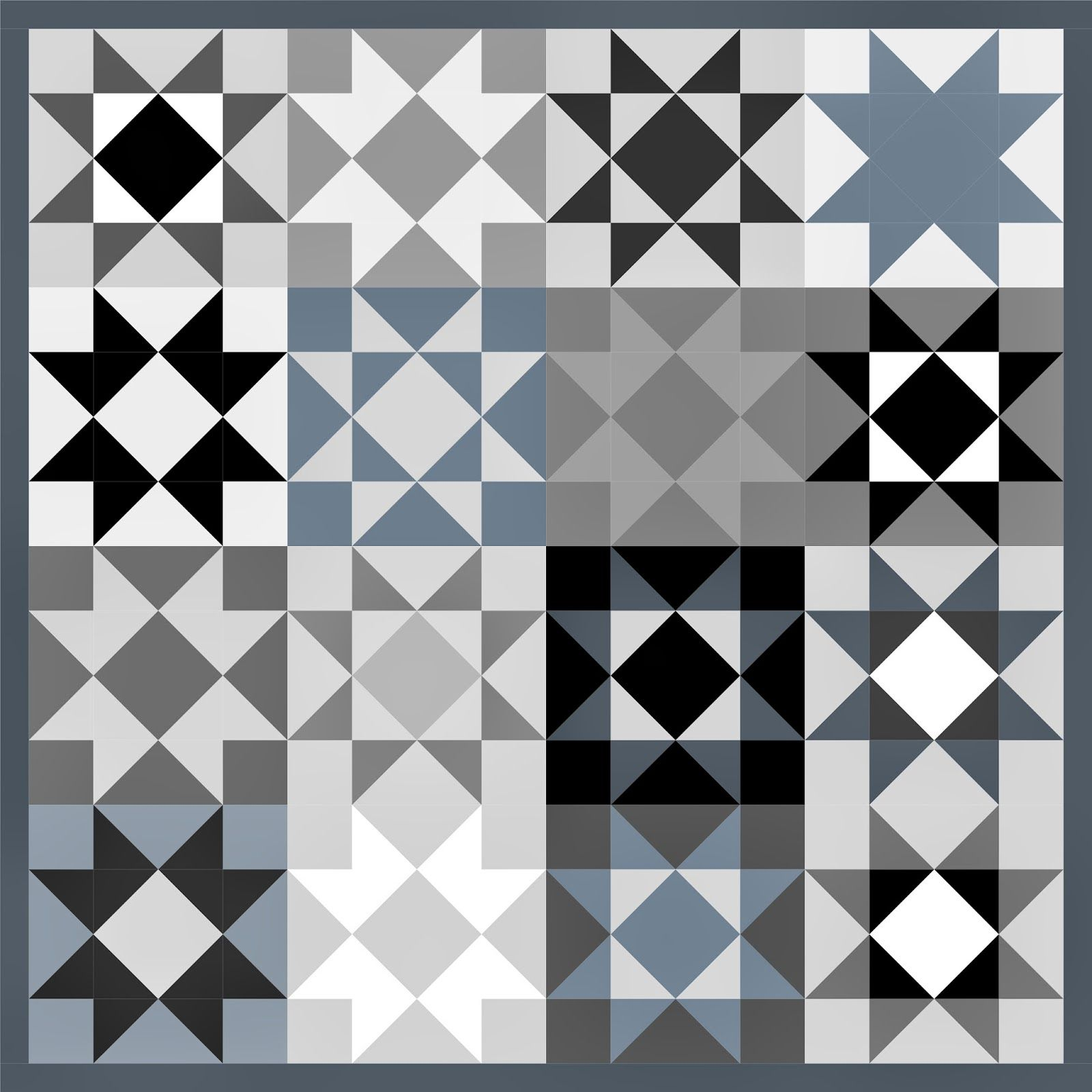ART GIRL: Star quilt: EQ6 mock-up