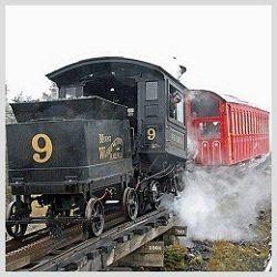 Mt. Washington Cog Railway - one of New Hampshire's Five Scenic Train Rides