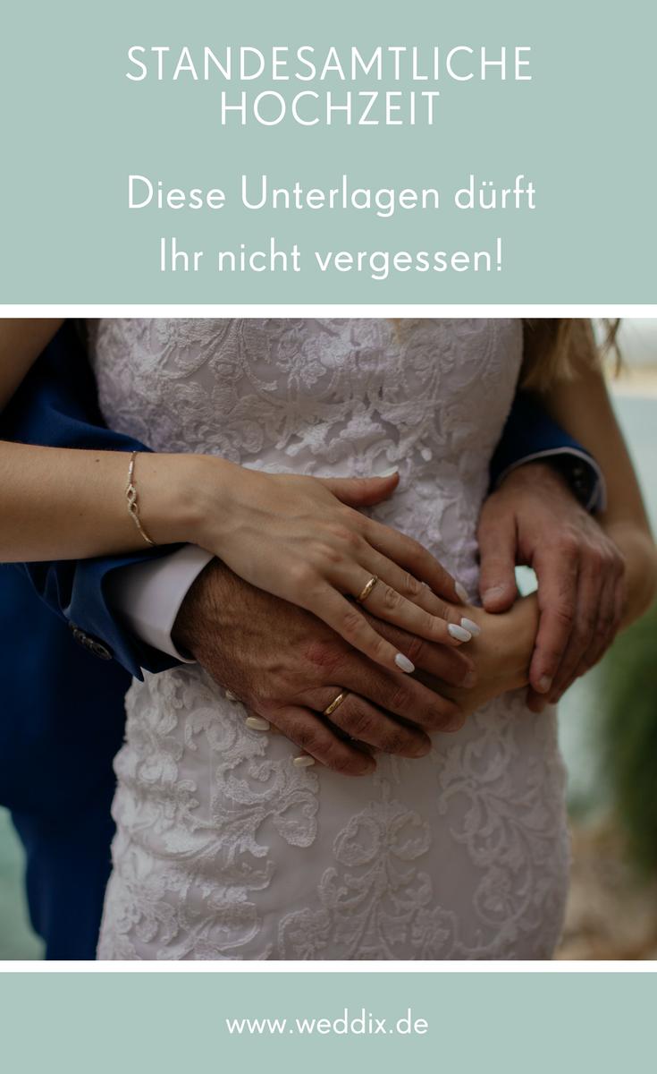 Dokumente Fur Die Standesamtliche Trauung Standesamtliche Hochzeit Standesamtliche Trauung Bund Furs Leben