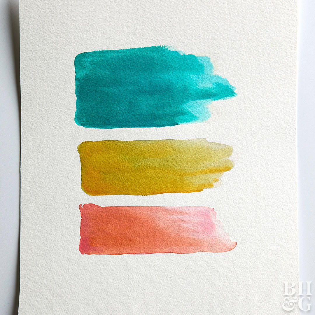 3 Super Easy Watercolor Techniques Anyone Can Do In 2020 Easy
