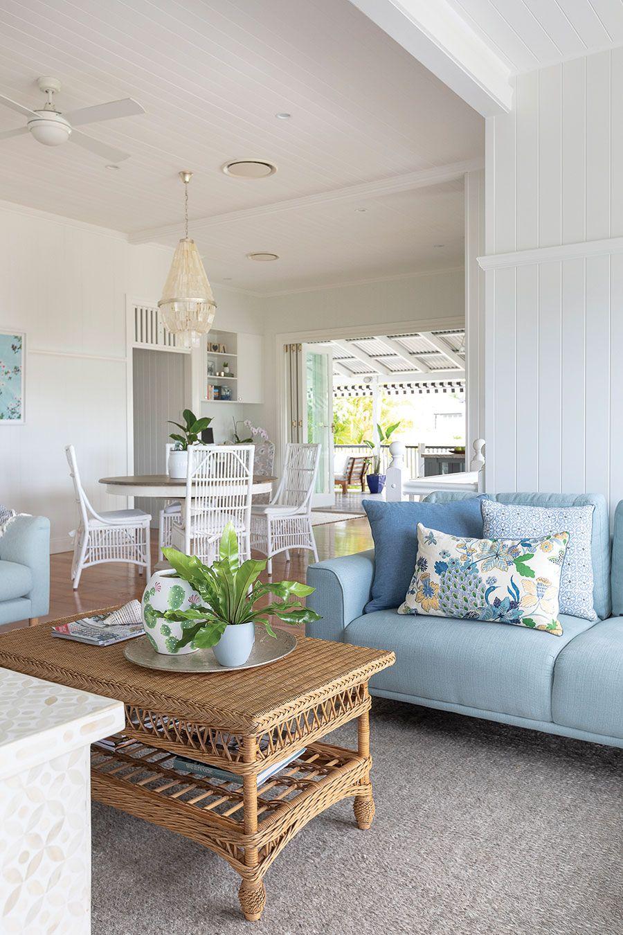 rylo co renovated queenslander house home magazine queenslander rattan dining chairs on kitchen interior queenslander id=28179