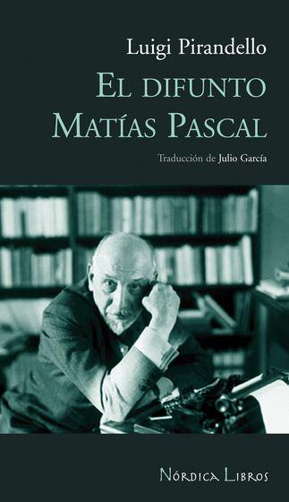 El difunto Matías Pascal - Cubierta