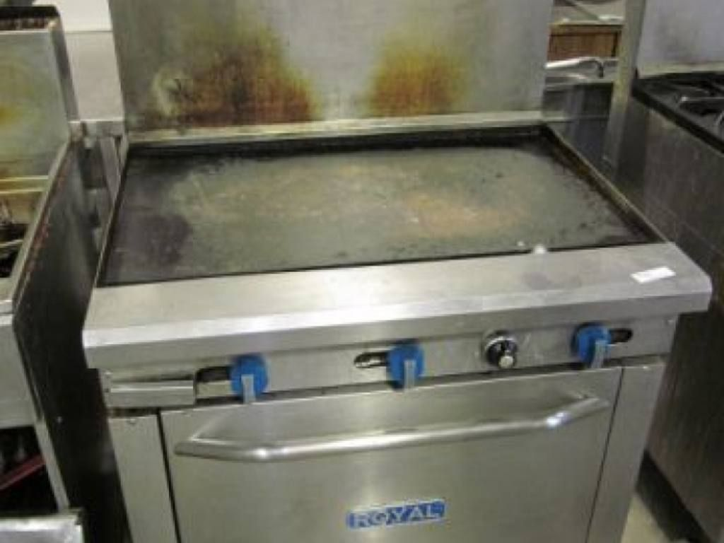 Royal Flat Top Grill And Oven Combo