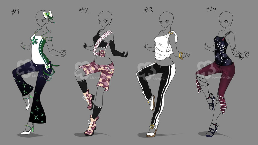 Some Outfit Adopts 20 , sold by Nahemii,san.deviantart.com on @deviantART