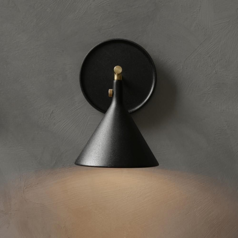 Menu Cast Sconce Wall Lamp Black Wall Lamps Wall Lamp Pendant Lamp