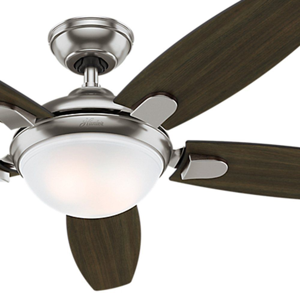 Moderner Deckenventilator Holz Mobel Contemporary Ceiling Fans Ceiling Fan Und Brushed Nickel Ceiling Fan