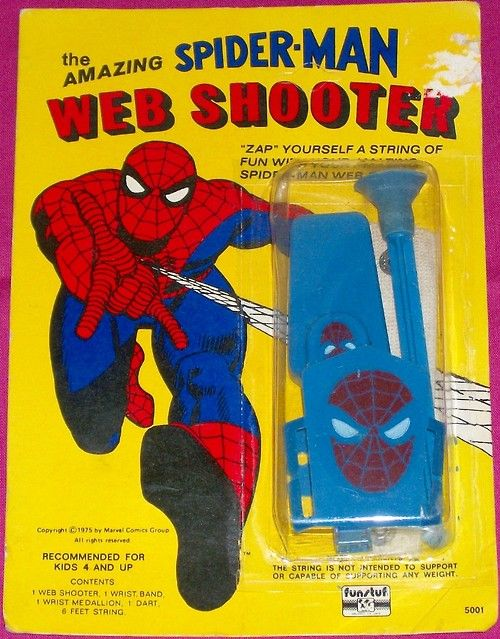 Spiderman figure vintage action