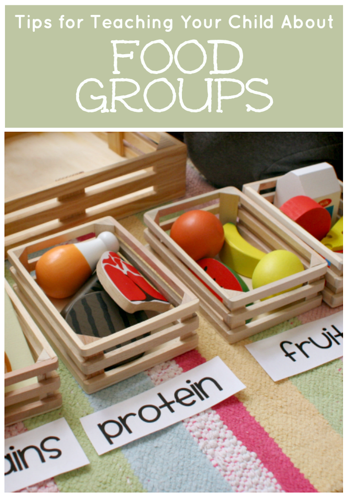 Teaching Your Child about Food Groups Group meals