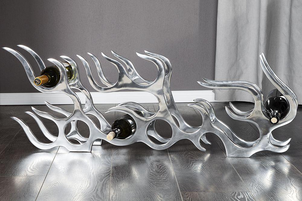 Dieses hochwertige Aluminium Weinregal, bietet Ihnen Platz ...