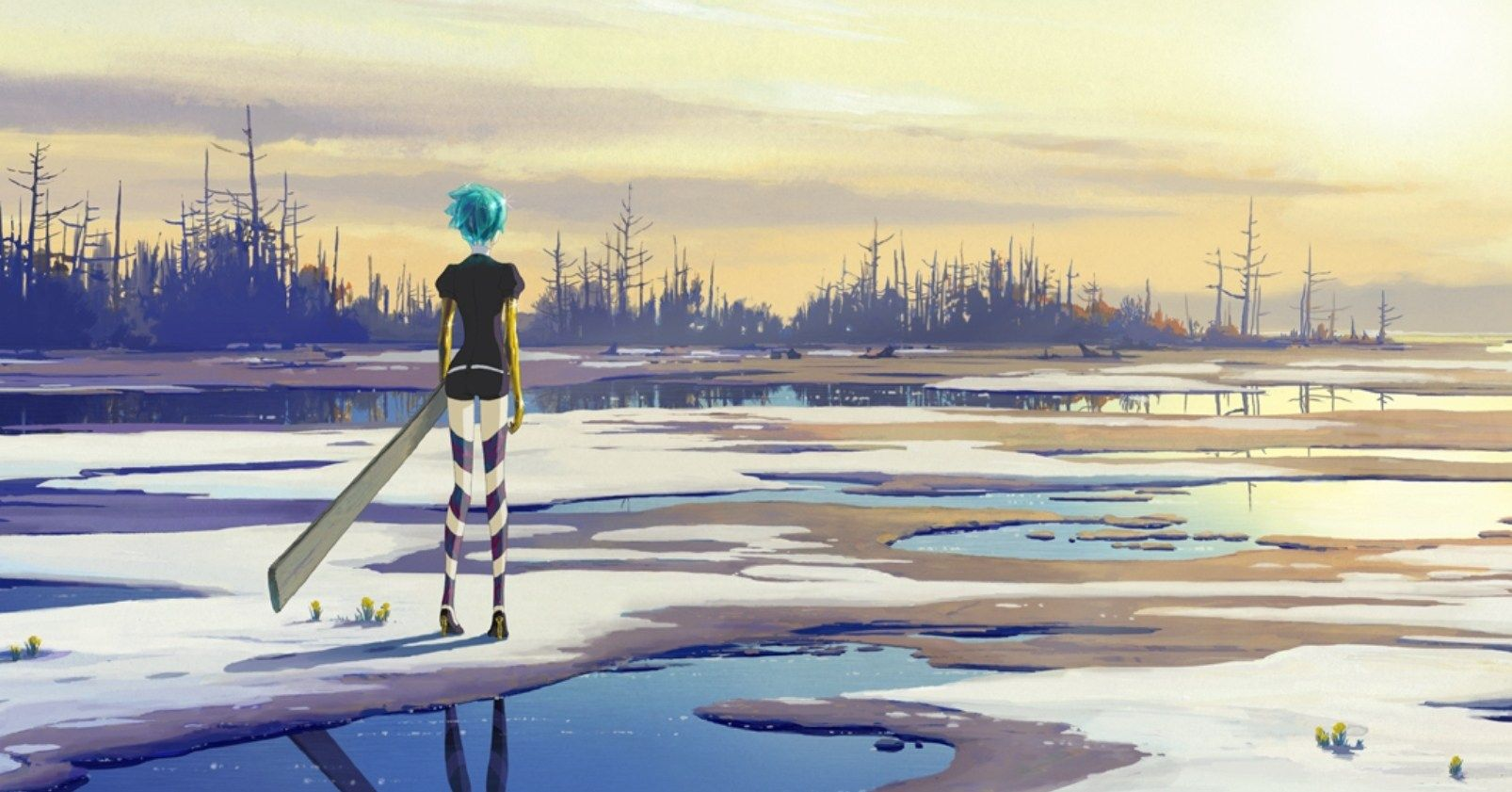 Land Of Dead Will Continue To Welcome >> Memory And Identity In Land Of The Lustrous Part 1 Welcome To