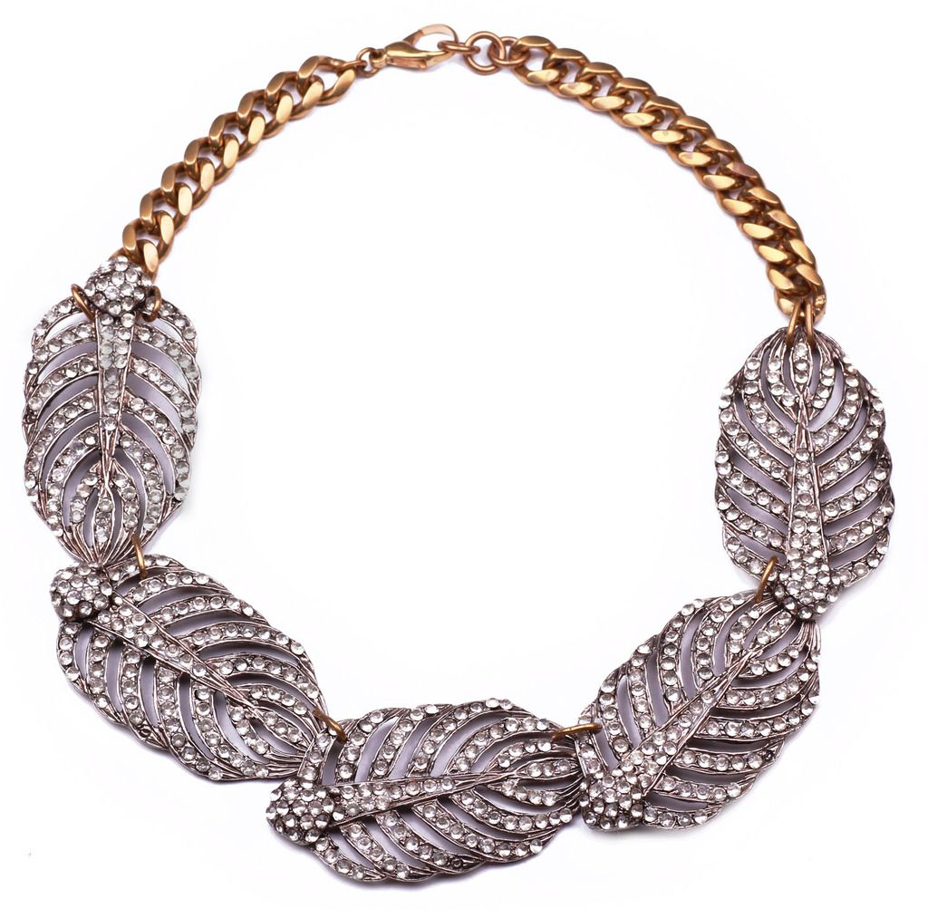 Lulu Frost, Drift Statement Necklace, Worth $450