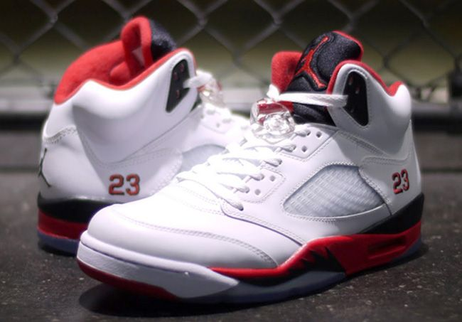 Nike Air Jordan 5 Retro Feu Rouge 2013 Chevy