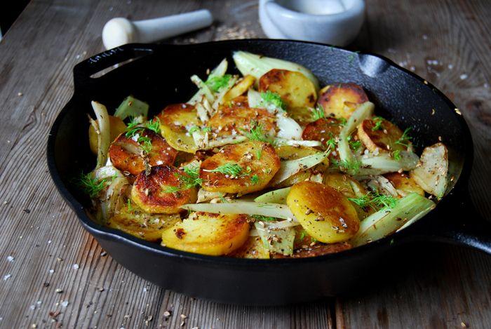 Fennel Potatoes