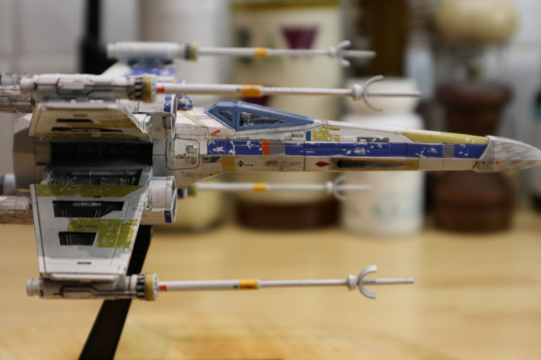 Bandai 1 72 X Wing Blue Leader Rogue One Ver Rpf Costume And Prop Maker Community X Wing Star Wars Vehicles X Wing Miniatures