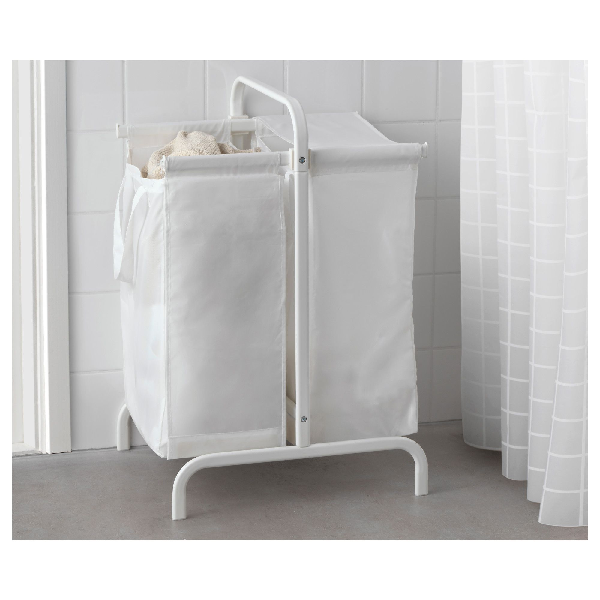 IKEA MULIG laundry bag with stand You can sort your light and dark ...