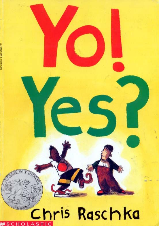 Yo Yes By Chris Raschka Great Book To Do For Practicing Fluency