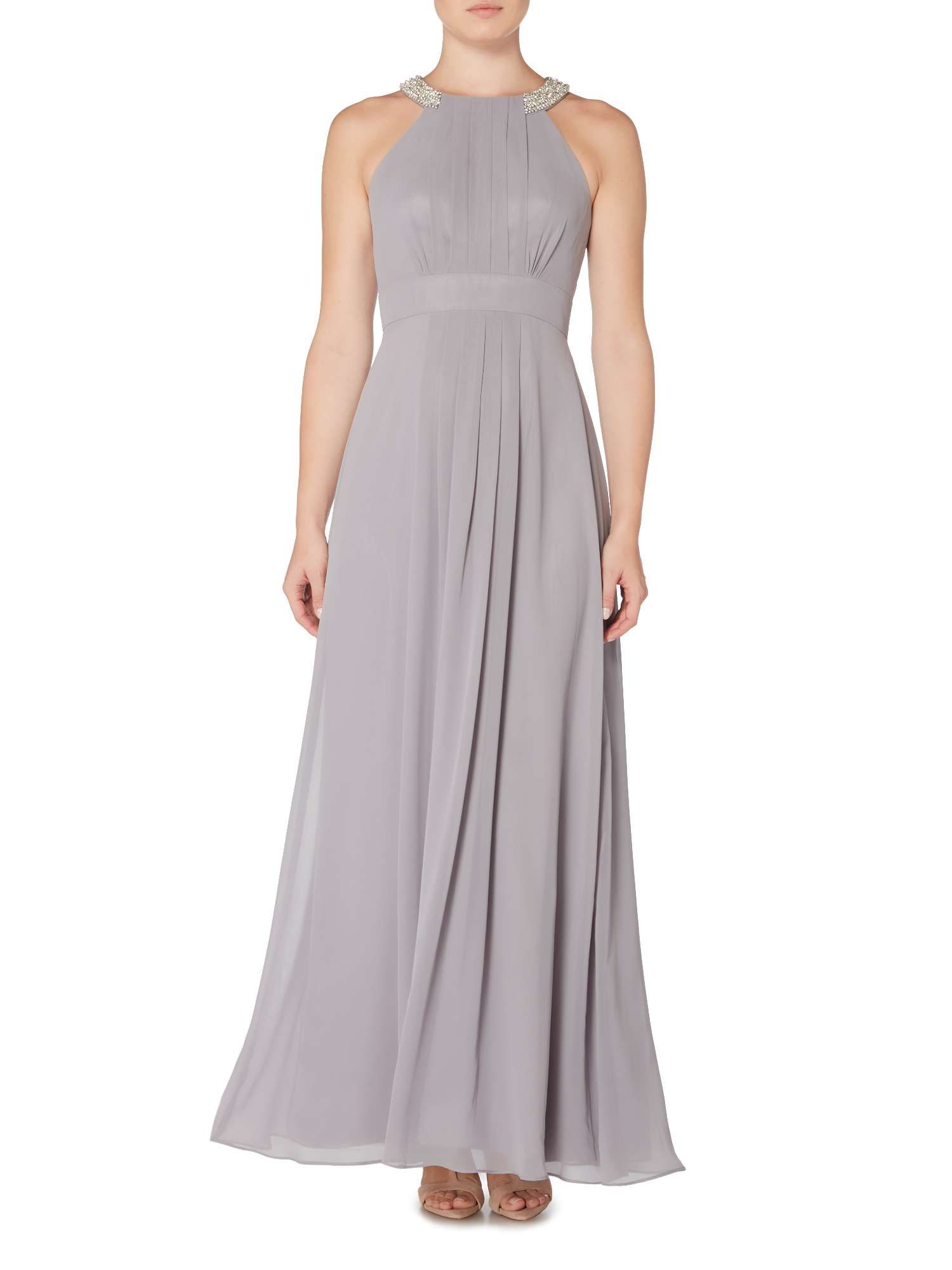 Buy your eliza j chiffon gown with crystal halterneck online now buy your eliza j chiffon gown with crystal halterneck online now at house of fraser ombrellifo Image collections