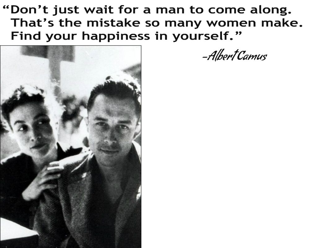 Albert camus quote about unique normal energy different - Albert Camus Quote From A Happy Death The Photo Is Of Camus And