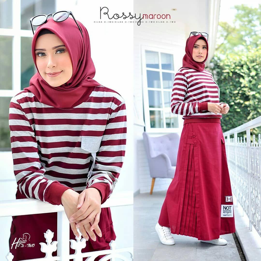 Rossy Dresses Muslimah Muslimahfashion Hijab Hijabfashion Hijabstyle Hijaber Hijabersindonesia Hijabercantik Hijaboutfit Fashiond Pakaian Hijab Kaos