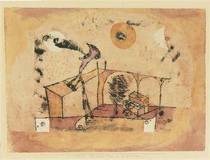 The heroic tenor as a Concert - Paul Klee (Swizterland, 1879-1940)