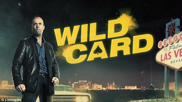 Ready for business:He is famous for playing hard man roles and Jason Statham can be seen doing just that in an exclusive clip from his new action film, Wild Card alongside sexy Sofia Vergara