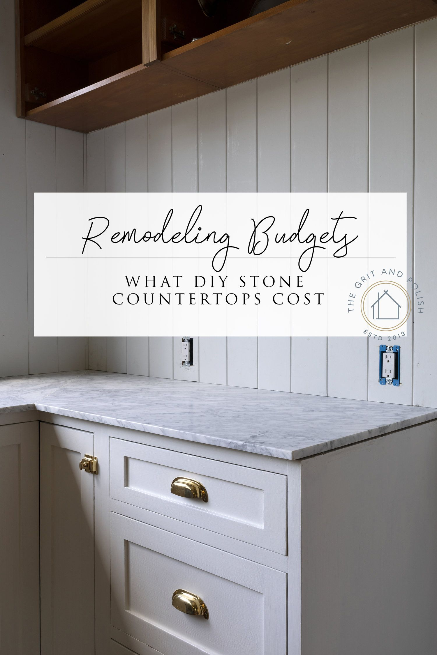 Farmhouse Kitchen What Our Diy Marble Countertops Cost Cost