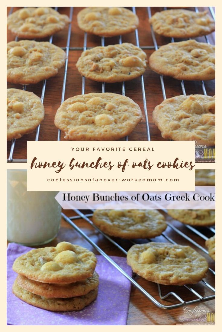 Honey Bunches of Oats Cookies Recipe With Raisins