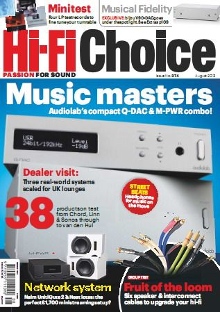 Hi-Fi Choice Magazine August 2013