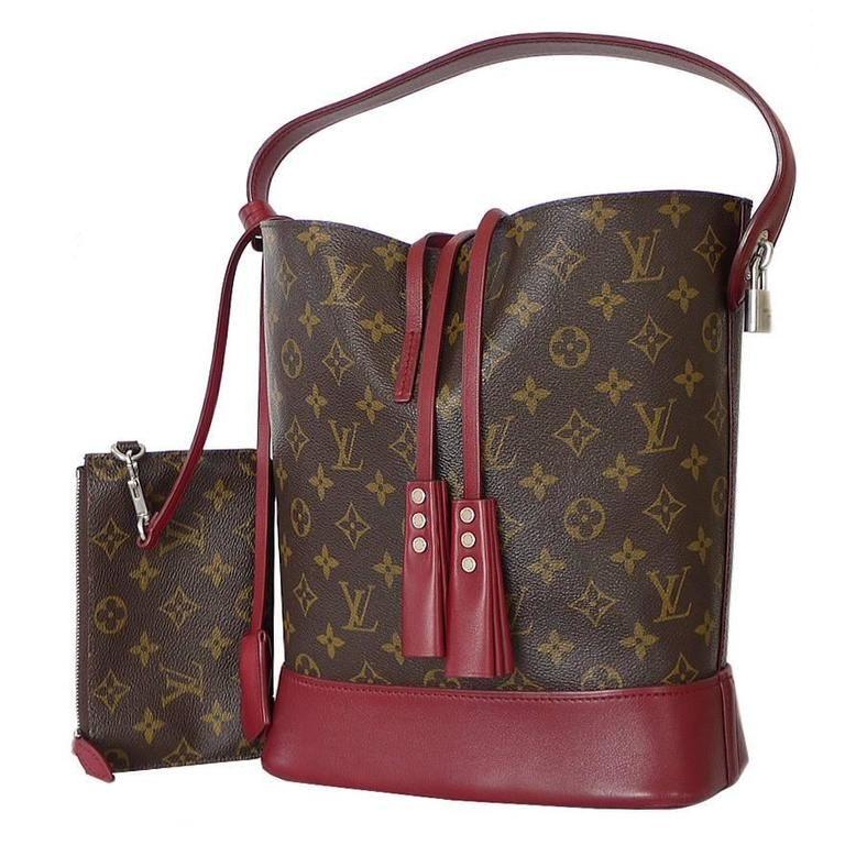 5dfac09bf668 Louis Vuitton Nn14 Monogram Idole GM Rubis Limited Edition